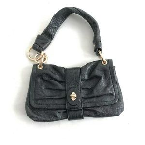 Coach Parker Hobo Pleated Soft Black